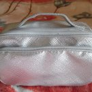 CLINIQUE Silver Travel Cosmetic Case