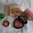 MAC Hipness Blush And TOO FACED Soulmates Ross & Rachel Bronzer And Blush