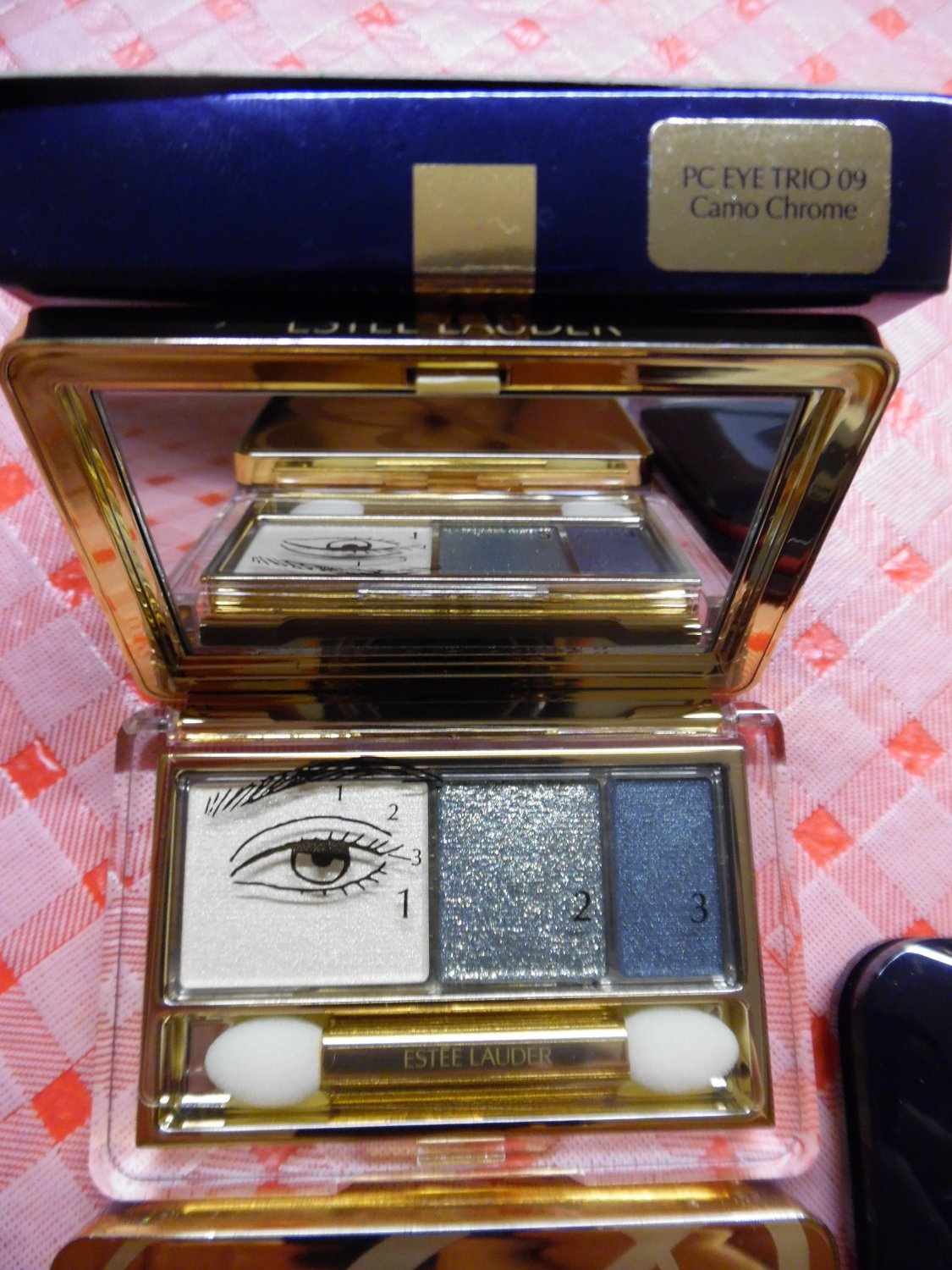 ESTEE LAUDER Pure Color Eye Trio 09 Camo Chrome