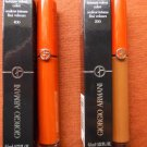 GIORGIO ARMANI Lot Of 2 Lip Velours/Lip Maestro Shades - 400 (The Red) & 200 (Terra)