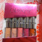 ColourPop LIMITED EDITION (Sold Out) Holiday '15 Set of 5 Mini Lippies - Kitty