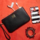 Liz Claiborne Black Phone Charging  Wristlet Wallet