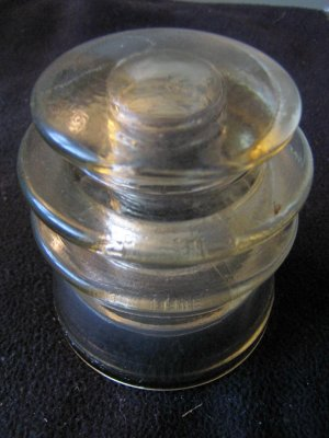 Armstrong T.W. 106 57 clear flat top insulator