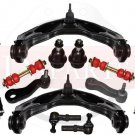 GMC Sierra 3500 HD New Front Suspension Steering Kit Tie Rod Ends Control Arms