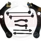 TOYOTA Corolla Front Suspension Steering Kit Tie Rod Ends Control Arms RH & LH