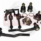 2WD D21 PICKUP Front Suspension Ball Joints Tie Rods Inner Outer Idler Arm New