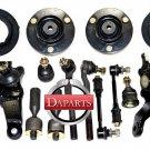 2000 Toyota 4Runner Suspension & Steering Kit Upper Lower Ball Joints RH & LH