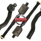 2006 Lexus ES-330 Front Suspension Steering Parts Tie Rod Ends Ball Joint RH LH