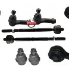Upper Control Arms Inner Outer Tie Rod Ends Lower Ball Joints Ford F 150 RWD New