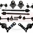 Toyota Corolla Front Suspension Steering Kit Tie Rod Ends Ball Joints Both Sides