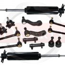 2000 Chevrolet C2500 Rront Suspension Steering Kit Shock Absorbers Ball Joints