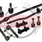 Ford Explorer Front Steering Kit Inner Outer Tie Rod Ends Center Link Adjusting