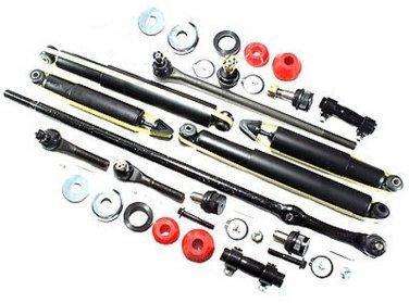 2wd Steering Suspension Kit Shock Absorber Center Links Rack Ends Ball Joints