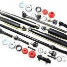 2wd Steering Suspension Kit Shock Absorber Center Links Rack Ends Ball Joints