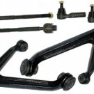 FREE SHIPPING 2 UPPER CONTROL ARM W/ BALL JOINTS INNER OUTER TIE RODS RIGHT LEFT