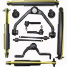 2001 Mercury Mountaineer Suspension Kit Shock Absorbers Ball Joint Rack End New