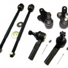 KIT STEERING SUSPENSION 2 BALL JOINTS 4 TIE RODS RH  LH