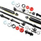 RWD Ford F350 Center Drag Link Inner Outer Tie Rods Ball Joints Shocks Absorber