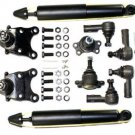 Front Suspension Shocks Absorbers Inner Outer Tie Rods Upper Lower Ball Joints