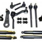 2006 Chevrolet Blazer Suspension & Steering Kit Inner Outer Tie Rod Ends RH & LH