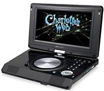 Go Video Portable DVD Player- 9 inch