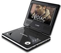 Coby Portable DVD Player- 7 inch