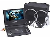 Audiovox Portable DVD Player- 7 inch