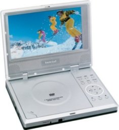 Initial Portable DVD Player- 7 inch