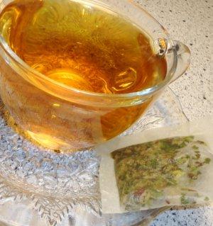 Natural BLOSSOM BREEZE Tea ( herbal blend ) - 10 tea bags ~gemsandstems.info~