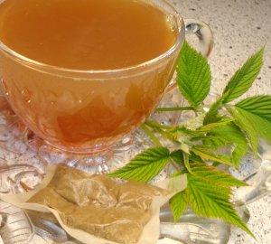 Natural RED RASPBERRY LEAF Herbal Tea ( Rubus idaeus ) - 10 tea bags ~gemsandstems.info~