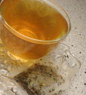 Natural REFRESH Tea ( Herbal Blend ) - 10 tea bags ~gemsandstems.info~