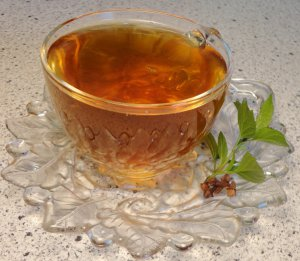 Natural WINTER MINT Tea ( herbal blend ) - 10 tea bags ~gemsandstems.info~
