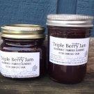 TRIPLE BERRY JAM ❀ ½ pint ❀ seedless   ~gemsandstems.info~
