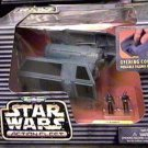 Star Wars 1996 Gold Logo Galoob Action Fleet Tie Bomber