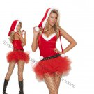 3pc Santas Sweetie Costume - Medium
