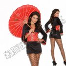 2pc Oriental Goddess Japanese Kimono Costume - Medium
