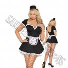 3pc Maid To Please Costume - Small