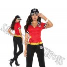 3pc High Octane Honey Racer Costume - Large