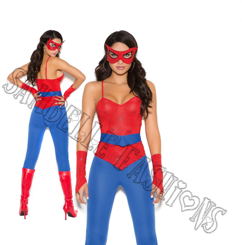 5pc Spider Super Hero Costume - X-Large