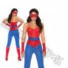 5pc Spider Super Hero Costume - X-Large