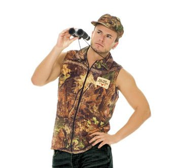 2pc Rack Hunter Costume - L/XL -