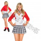 2pc Dean List Diva School Girl Costume - 3X/4X
