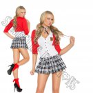 2pc Dean List Diva School Girl Costume - Small