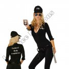 7pc Sexy FBI Agent Costume - Large