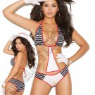 2pc First Mate Sailor Bedroom/Lingerie Costume - One Size