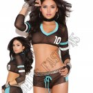 2pc Football Fantasy Bedroom/Lingerie Costume - One Size