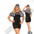 3pc Sassy Detective Costume - 3X/4X