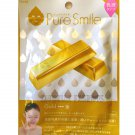 Pure Smile Latex Essence Face Mask - Gold - 1 sheet