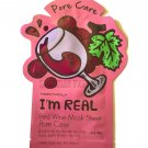 TonyMoly Pore Care Red Wine Essence Face Mask - 1 Sheet