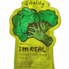 TonyMoly Vitality Broccoli Essence Face Mask - 1 Sheet